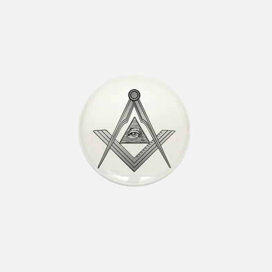 Mason Illuminati Mini Button