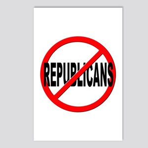 Anti / No Republicans Postcards (Package of 8)