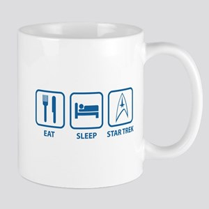 Eat Sleep Star Trek Mug