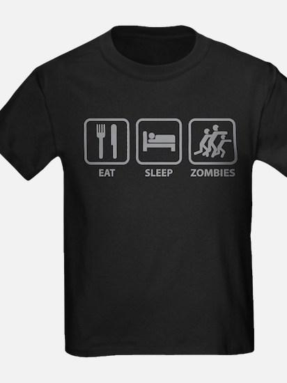 Eat Sleep Zombies T