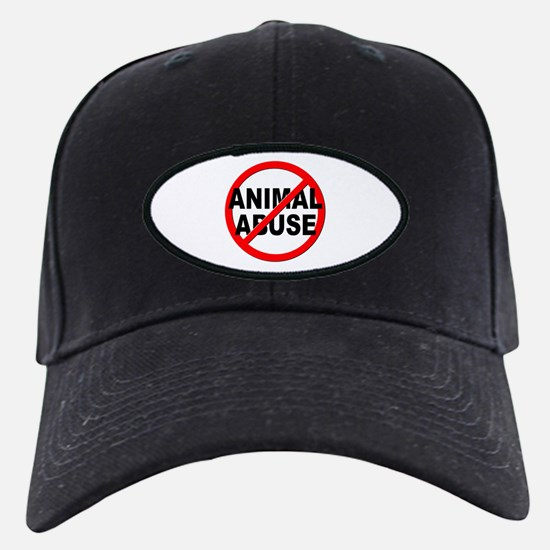 Anti / No Animal Abuse Baseball Hat