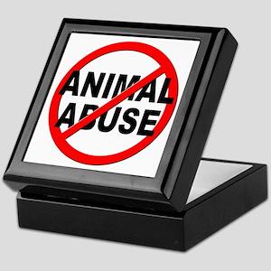 Anti / No Animal Abuse Keepsake Box