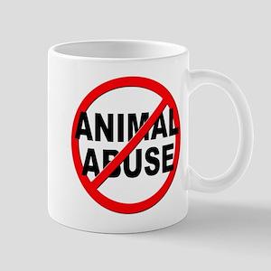 Anti / No Animal Abuse Mug
