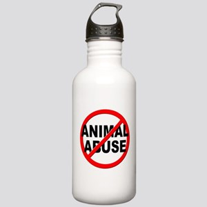 Anti / No Animal Abuse Stainless Water Bottle 1.0L