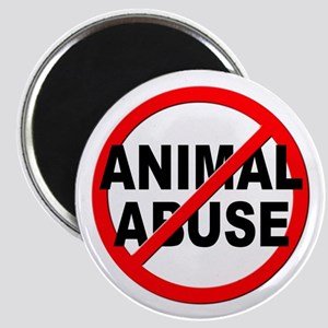 Anti / No Animal Abuse Magnet