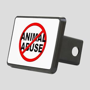 Anti / No Animal Abuse Rectangular Hitch Cover