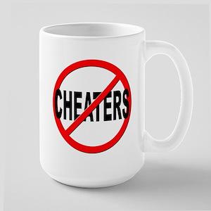 Anti / No Cheaters Large Mug