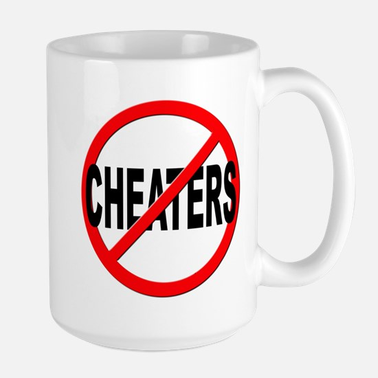 Anti / No Cheaters Large Mug