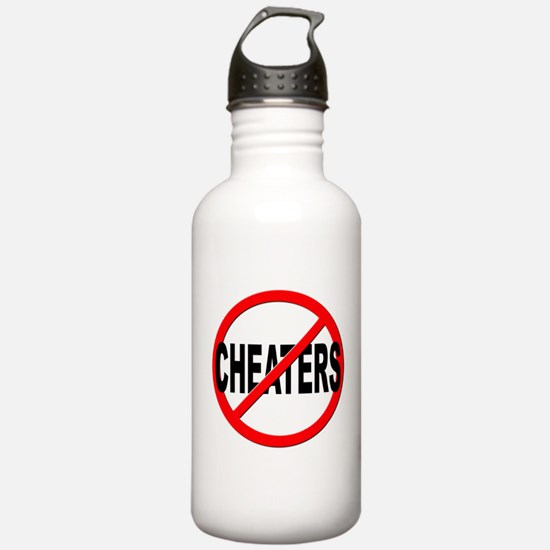 Anti / No Cheaters Water Bottle