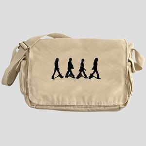 Zebra Crossing Messenger Bag