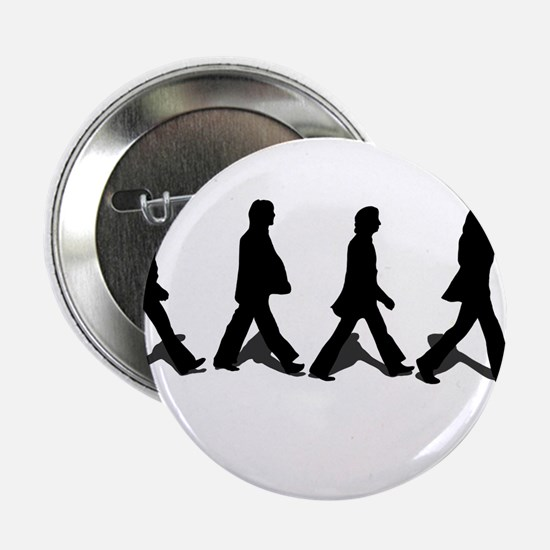 "Zebra Crossing 2.25"" Button"