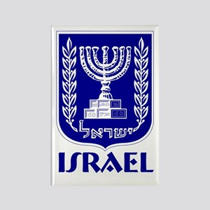 """Israel"" Coat of Arms Rectangle Magnet"
