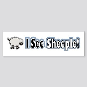 See Sheeple Sticker (Bumper)