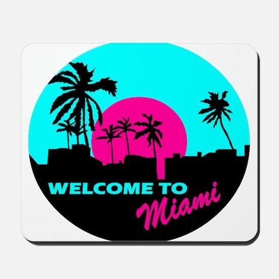 Welcome to Miami Mousepad