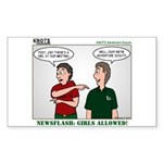KNOTS Adventure Scouts Sticker (Rectangle 50 pk)