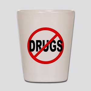 Anti / No Drugs Shot Glass