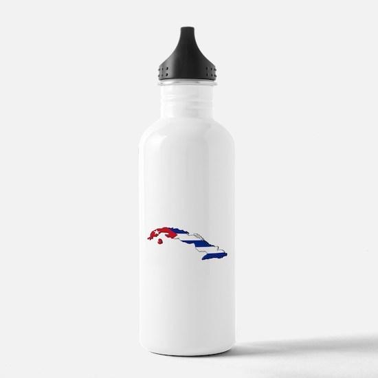 Island Flag Water Bottle