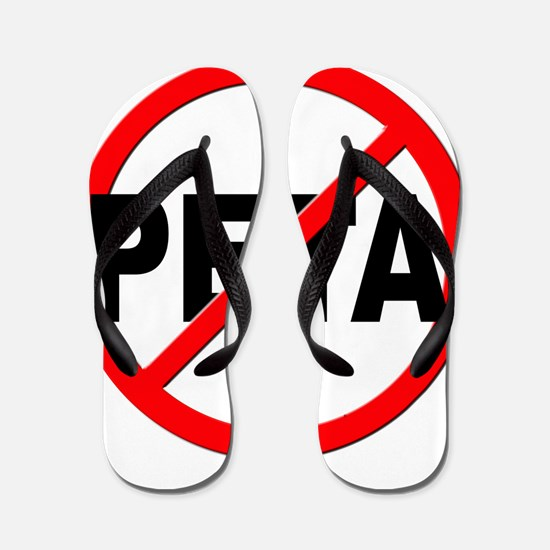 Anti / No PETA Flip Flops