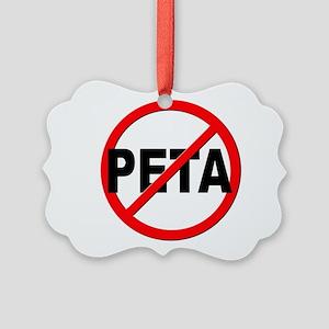 Anti / No PETA Picture Ornament