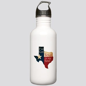 Texas in my Soul Stainless Water Bottle 1.0L