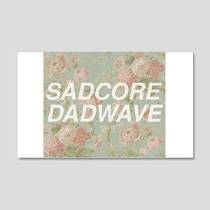 Sadcore Dadwave 20x12 Wall Decal