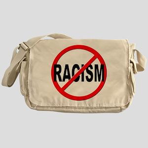 Anti / No Racism Messenger Bag