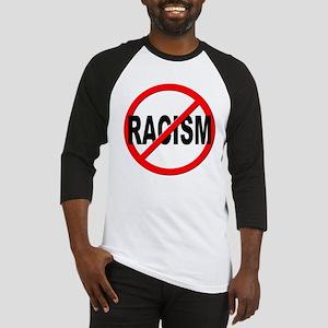Anti / No Racism Baseball Jersey