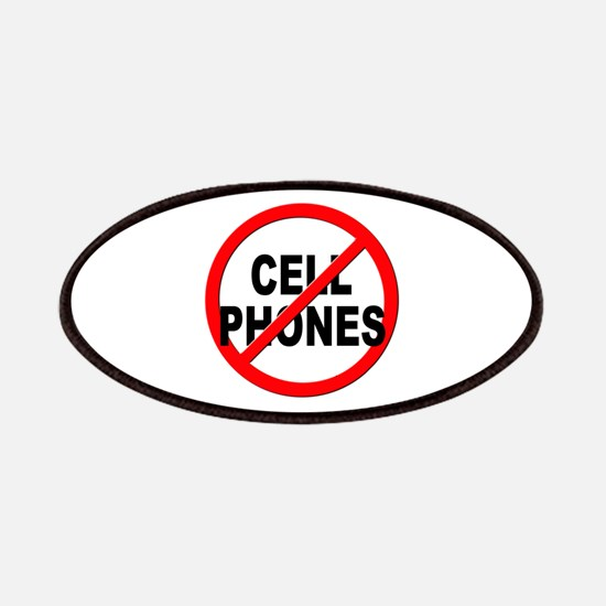 Anti / No Cell Phones Patches
