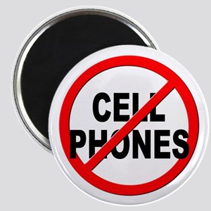 Anti / No Cell Phones Magnet