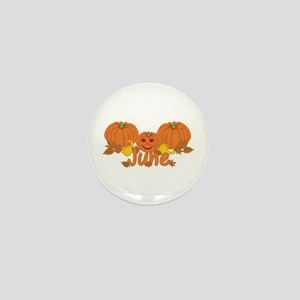 Halloween Pumpkin June Mini Button