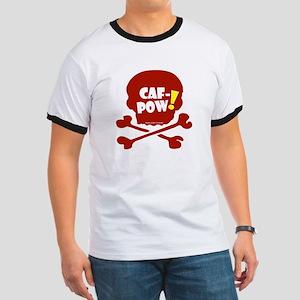 Caf-Pow Skull Ringer T