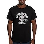 Doombxny Biker Patch Men's Fitted T-Shirt (dark)