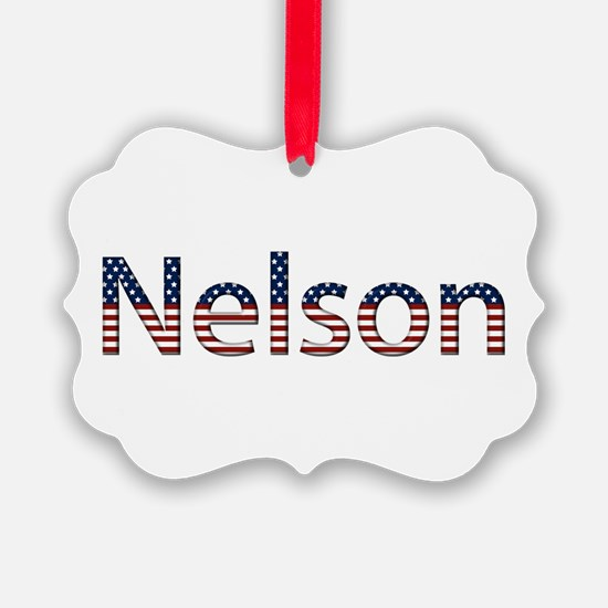 Nelson Stars and Stripes Ornament