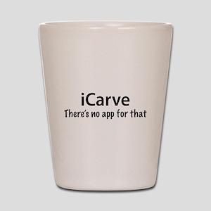 iCarve Shot Glass