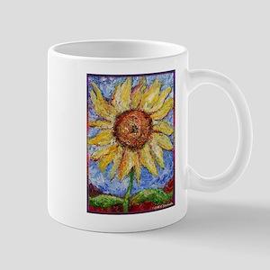 Sunflower!Colorful flower art! Mug