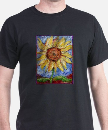 Sunflower!Colorful flower art! T-Shirt