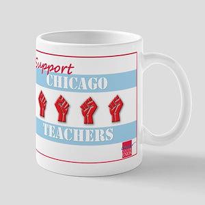 Chicago Teachers Flag Mug