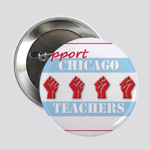 "Chicago Teachers Flag 2.25"" Button"