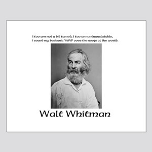 Whitmans Barbaric Yawp Small Poster
