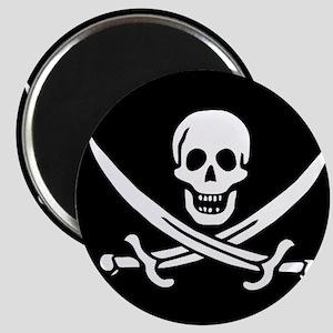 Calico Jack Flag Magnet