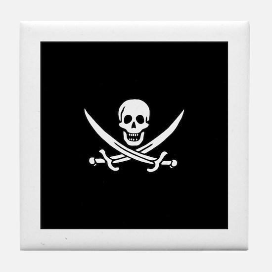 Calico Jack Flag Tile Coaster