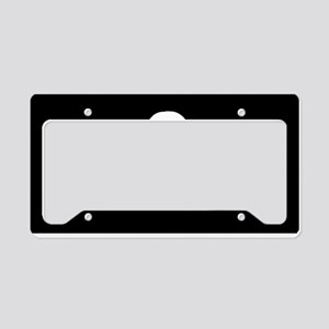 Calico Jack Flag License Plate Holder