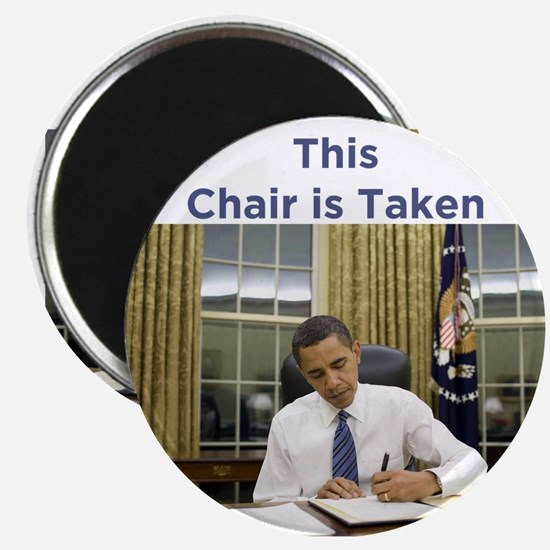 Obama: This Chair is Taken Magnet
