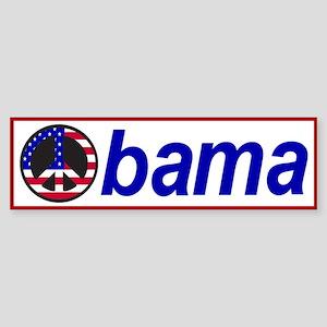 Obama! Sticker (Bumper)