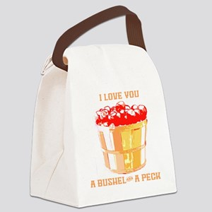 Bushel and a Peck Canvas Lunch Bag