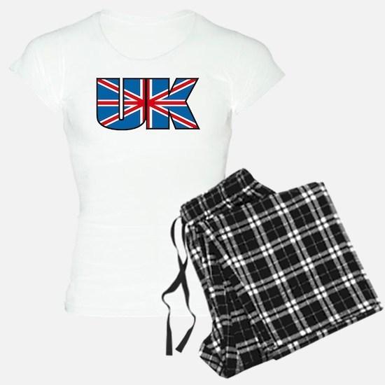 united kingdom flag Pajamas