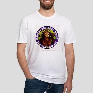 Monkey Business Music Logo url Fitted T-Shirt