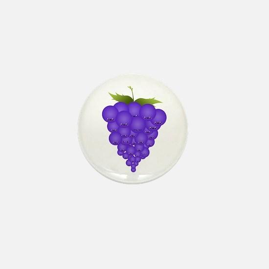 Buncha Grapes Mini Button