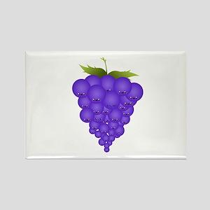 Buncha Grapes Rectangle Magnet