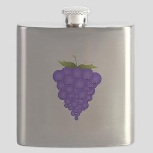 Buncha Grapes Flask